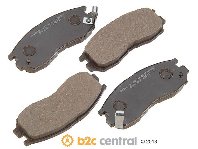 FBS - PBR Deluxe Brake Pad Set w/o Shims (Front) - B2C W0133-1626010-PBR