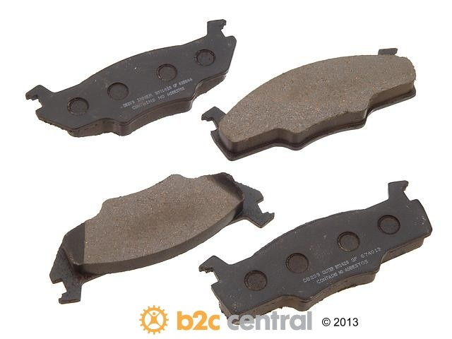 FBS - PBR Deluxe Brake Pad Set w/o Shims (Front) - B2C W0133-1626015-PBR