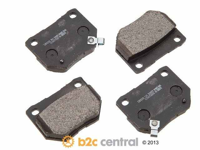 PBR -  XBG - Semi-Metallic Brake Pad Set w/o Shims (Rear) - B2C W0133-1626056-PBR