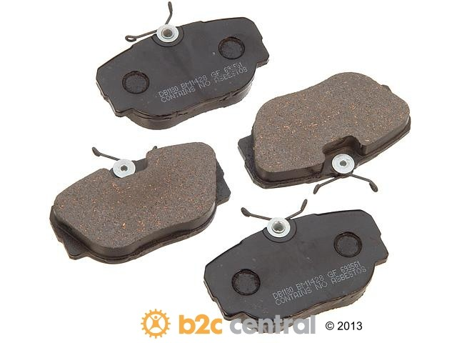 FBS - PBR Deluxe Brake Pad Set Ceramic w/o Shims (Front) - B2C W0133-1626091-PBR