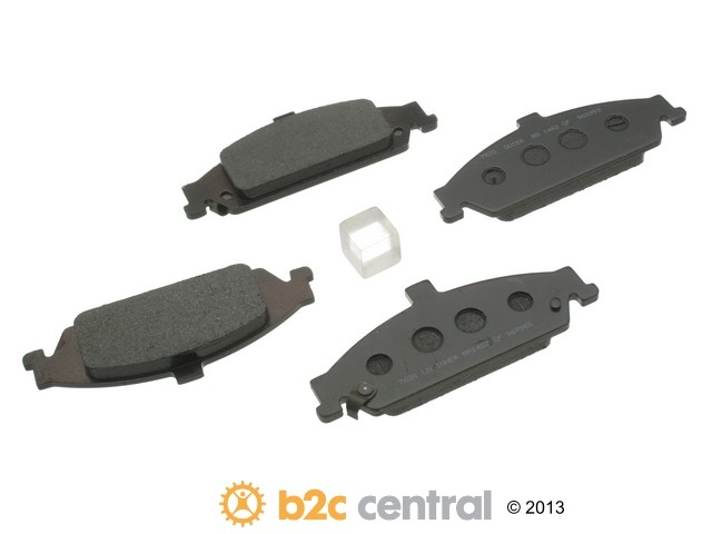 FBS - PBR Deluxe Brake Pad Set Ceramic w/o Shims (Front) - B2C W0133-1626622-PBR
