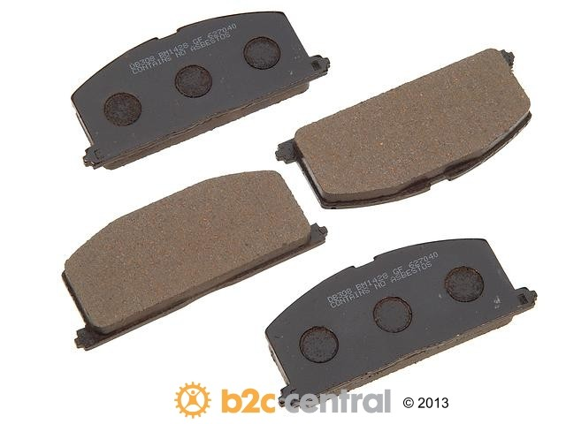 FBS - PBR Deluxe Brake Pad Set w/o Shims (Front) - B2C W0133-1626734-PBR