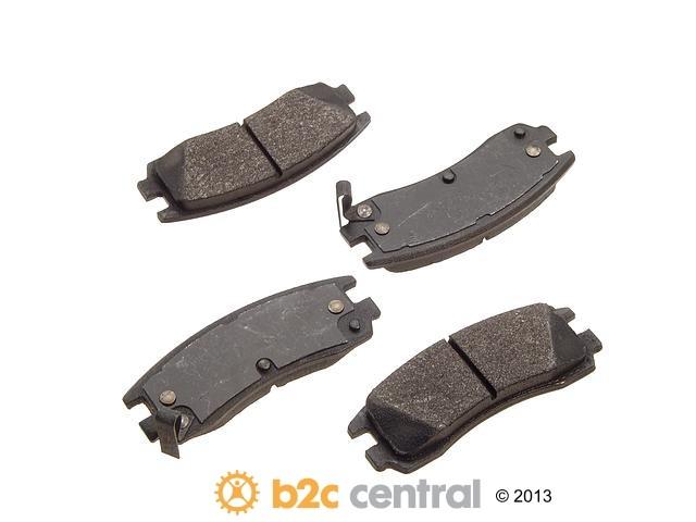 FBS - PBR XBG - Semi-Metallic Brake Pad Set w/o Shims (Rear) - B2C W0133-1626827-PBR