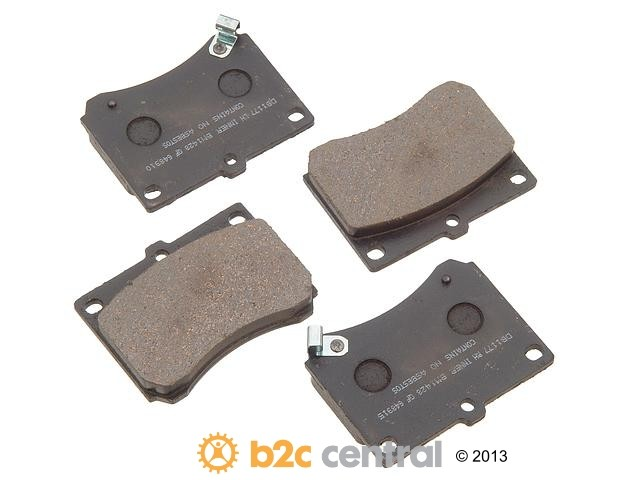 FBS - PBR Deluxe Brake Pad Set w/o Shims (Front) - B2C W0133-1626921-PBR