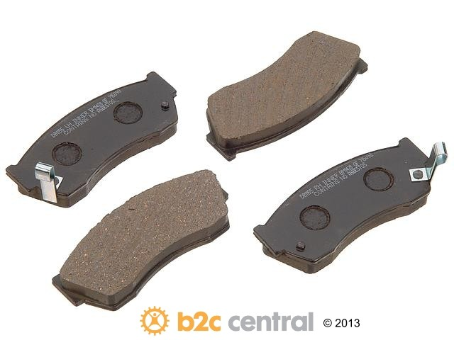 FBS - PBR Deluxe Brake Pad Set w/o Shims (Front) - B2C W0133-1627205-PBR