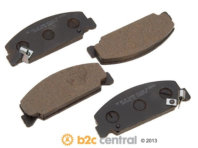 FBS - PBR Deluxe Brake Pad Set w/o Shims (Front) - B2C W0133-1627402-PBR