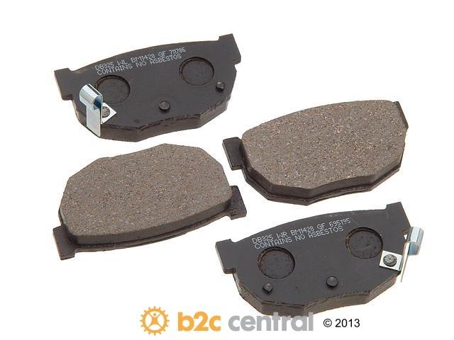 FBS - PBR Deluxe Brake Pad Set w/o Shims (Rear) - B2C W0133-1627717-PBR