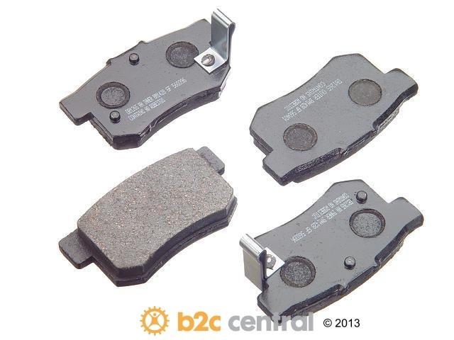 FBS - PBR Deluxe Brake Pad Set w/o Shims (Rear) - B2C W0133-1627776-PBR