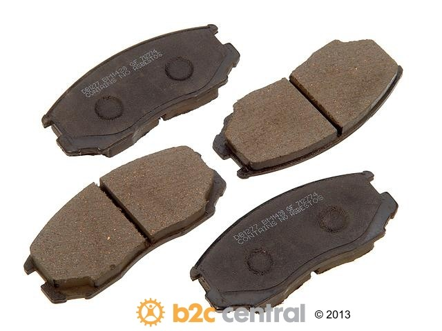 FBS - PBR Deluxe Brake Pad Set Ceramic w/o Shims (Front) - B2C W0133-1628305-PBR