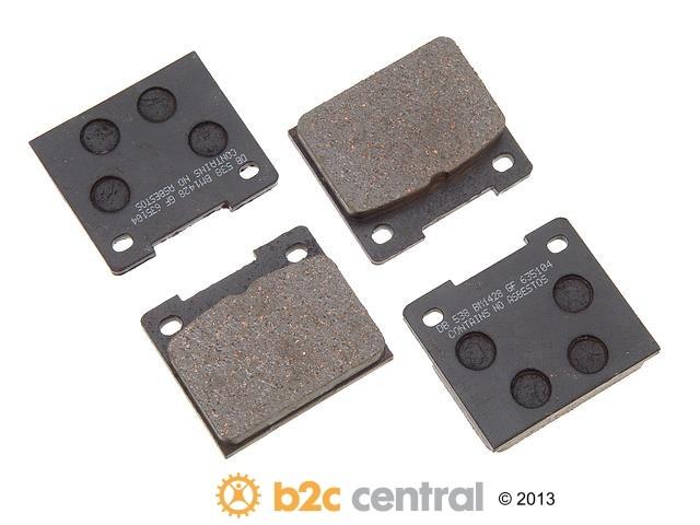 FBS - PBR Deluxe Brake Pad Set w/o Shims (Rear) - B2C W0133-1629176-PBR