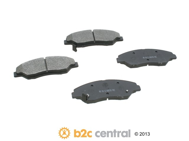 NPN -  Premium Brake Pad Set Organic w/o Shims (Front) - B2C W0133-1630263-NPN