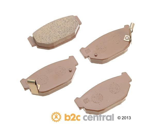 FBS - MK Kashiyama Brake Pad Set w/o Shims (Rear) - B2C W0133-1630337-MK