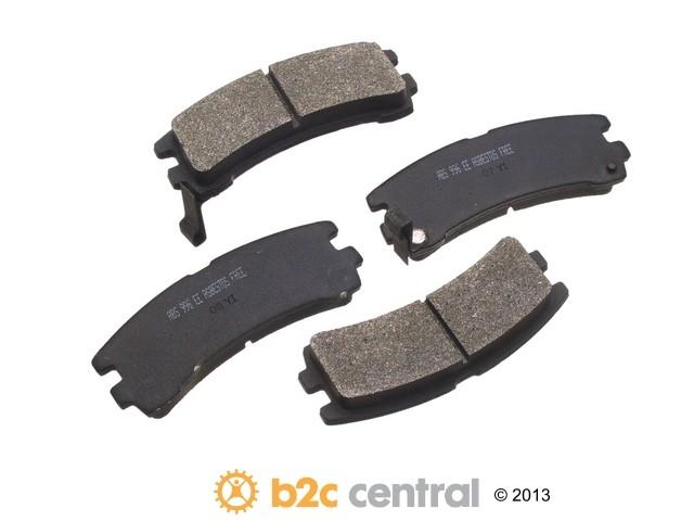 FBS - NPN OE Formulated Brake Pad Set w/o Shims (Rear) - B2C W0133-1631629-NPN