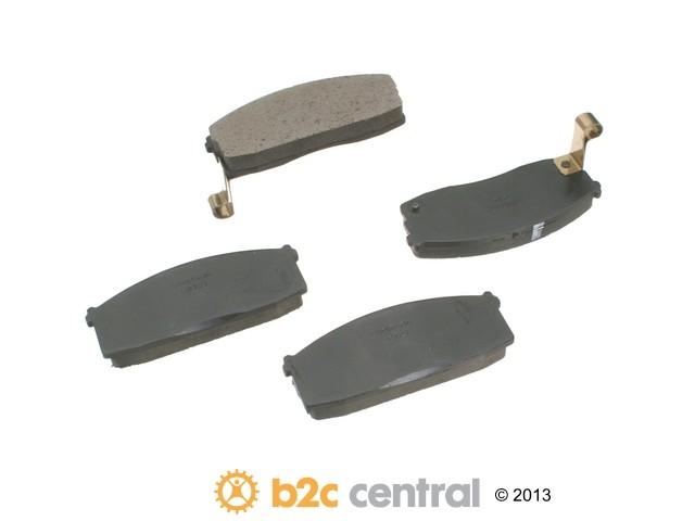 FBS - Aisin Brake Pad Set w/o Shims (Front) - B2C W0133-1631725-ASC