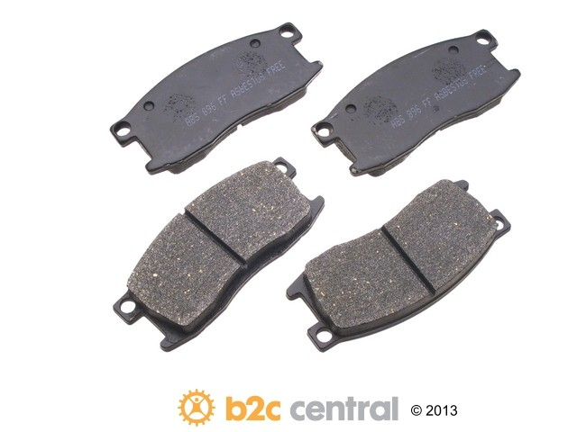 FBS - NPN OE Formulated Brake Pad Set w/o Shims (Front) - B2C W0133-1633682-NPN