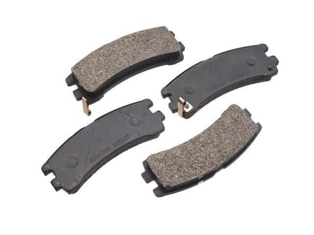 Advics-Sumi -  Ceramic OE Replacement Brake Pad Set w/o Shims (Rear) - B2C W0133-1633849-ADS