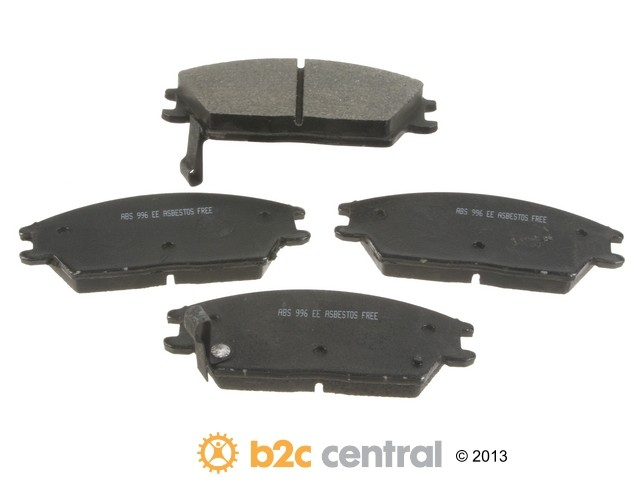 FBS - NPN OE Formulated Brake Pad Set w/o Shims (Front) - B2C W0133-1648537-NPN