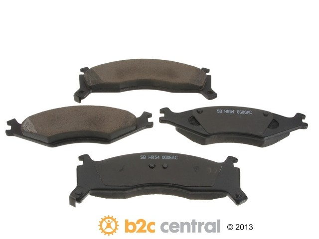 FBS - Sangsin Ceramic Brake Pad Set With Shims (Front) - B2C W0133-1659446-SBC