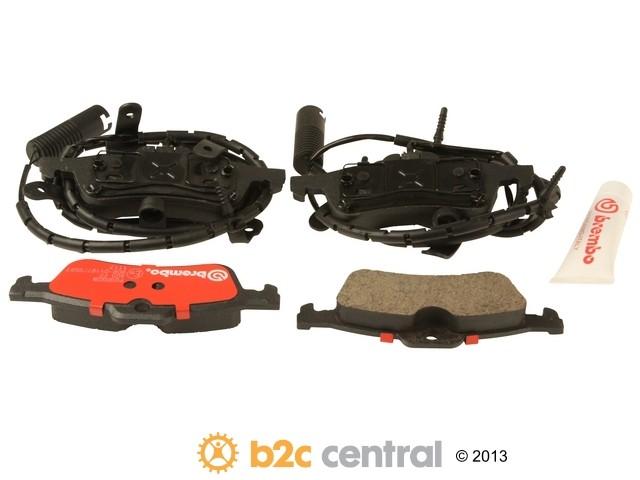FBS - Brembo Ceramic Brake Pad Set With Shims (Rear) - B2C W0133-1665862-BRE