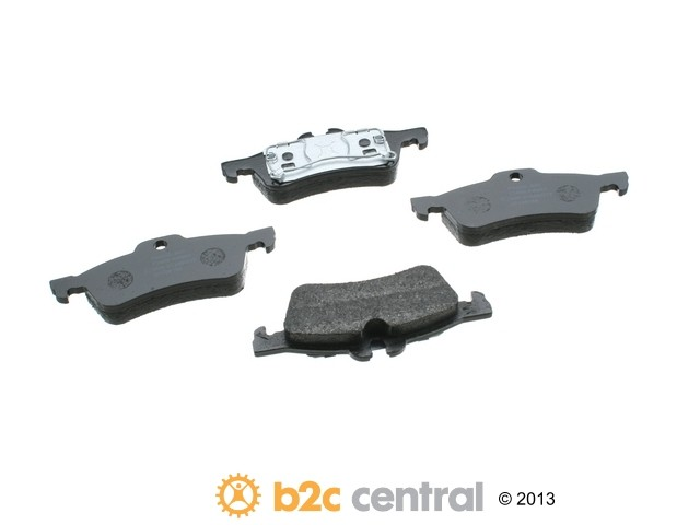 FBS - Pagid OE Formulated Brake Pad Set With Shims (Rear) - B2C W0133-1665862-PAG