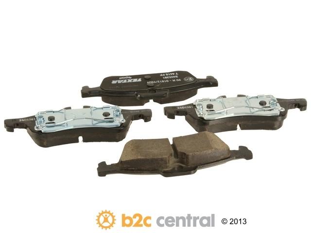 FBS - Textar ePad Epad OE Formulated Ceramic Brake Pad Set w/ Shims (Rear) - B2C W0133-1665862-TXE