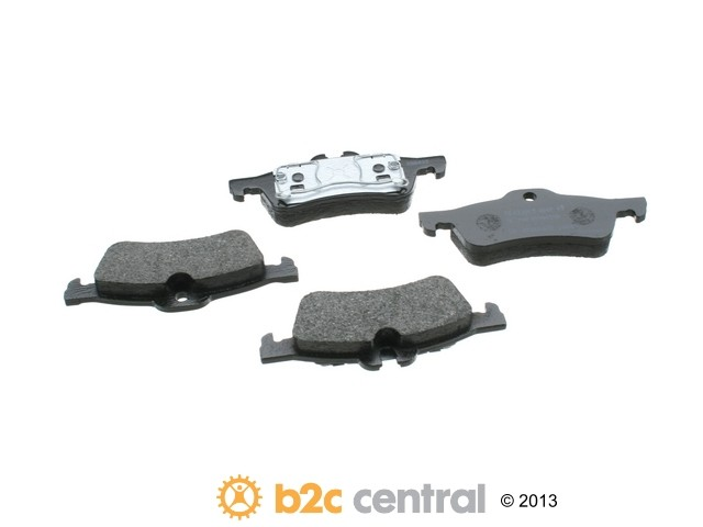 FBS - Textar OE Formulated Brake Pad Set With Shims (Rear) - B2C W0133-1665862-TEX
