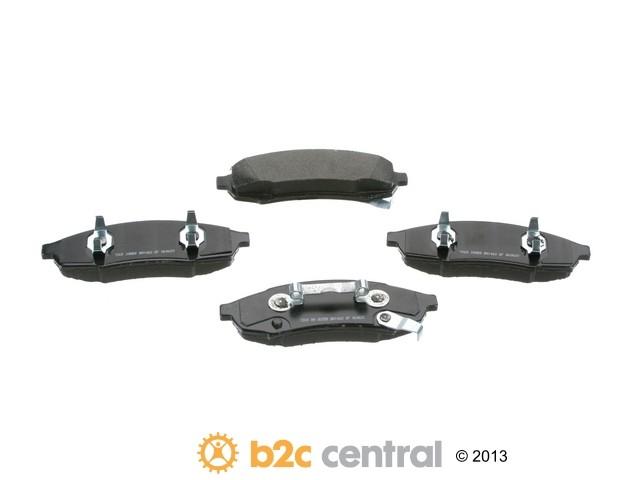 PBR -  Deluxe Brake Pad Set Ceramic w/o Shims (Front) - B2C W0133-1683971-PBR