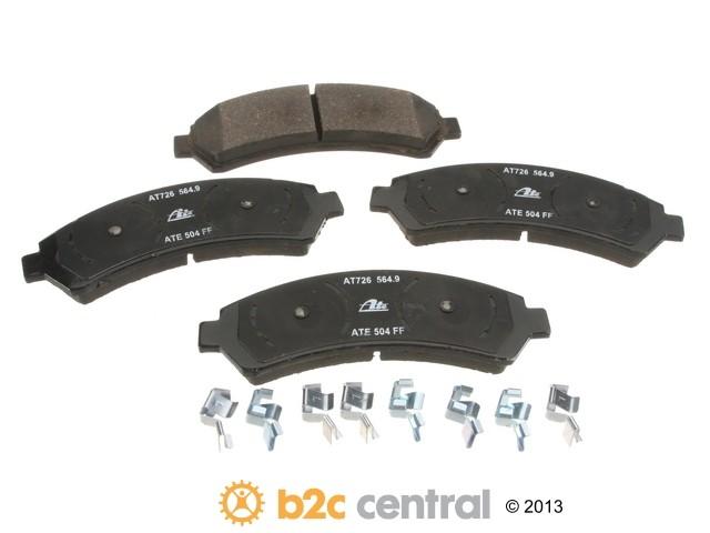 FBS - ATE Premium One Ceramic Brake Pad Set w/ Shims (Front) - B2C W0133-1693307-APC