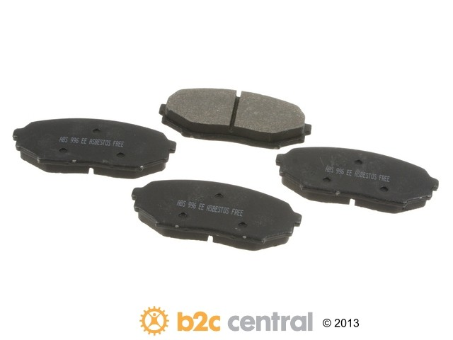FBS - NPN OE Formulated Brake Pad Set w/o Shims (Front) - B2C W0133-1696121-NPN