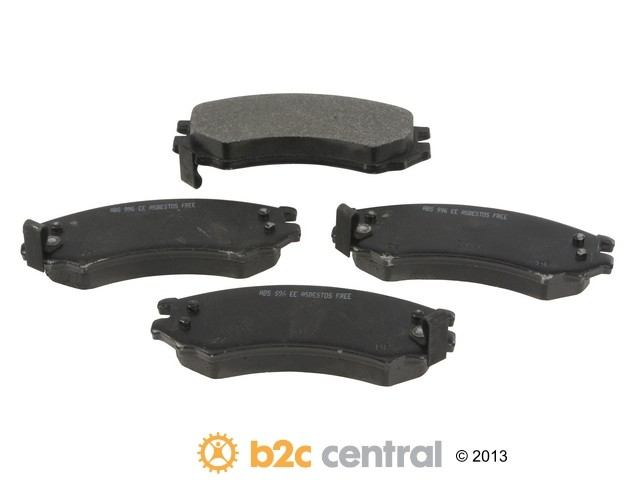 FBS - NPN OE Formulated Brake Pad Set w/o Shims (Front) - B2C W0133-1698229-NPN