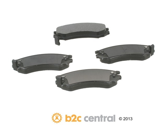 FBS - PBR XBG - Semi-Metallic Brake Pad Set w/o Shims (Front) - B2C W0133-1698230-PBR