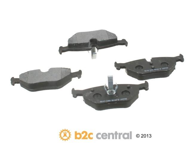 FBS - PBR Deluxe Brake Pad Set w/o Shims (Rear) - B2C W0133-1720151-PBR