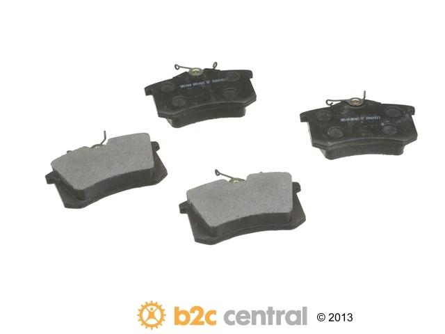 FBS - PBR Deluxe Brake Pad Set w/o Shims (Rear) - B2C W0133-1733579-PBR