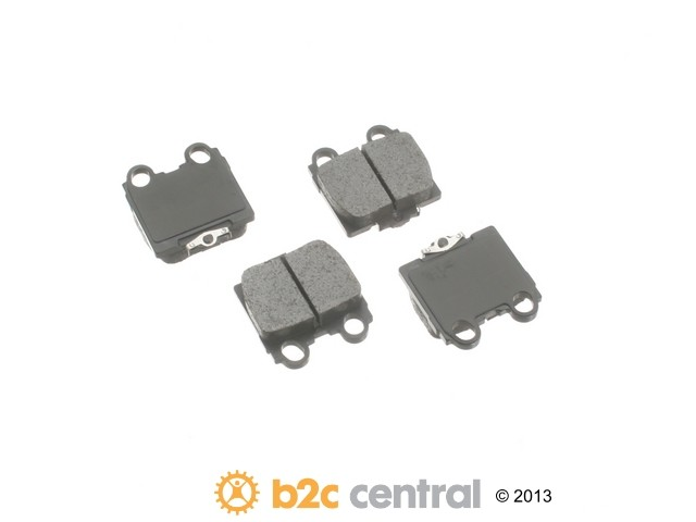 FBS - Advics Ceramic Brake Pad Set w/ Shims (Rear) - B2C W0133-1738930-ADV