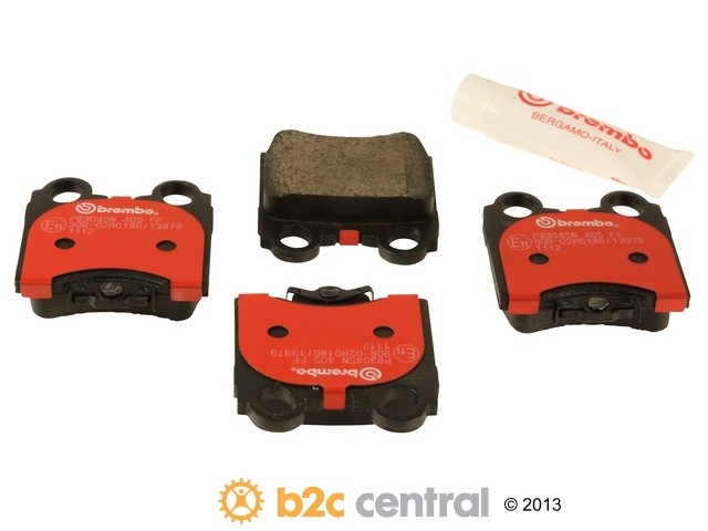 FBS - Brembo Ceramic Brake Pad Set With Shims (Rear) - B2C W0133-1738930-BRE
