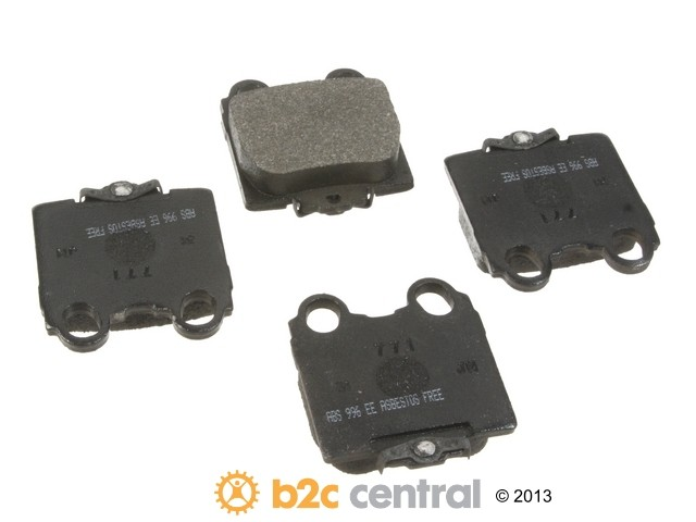 FBS - NPN OE Formulated Brake Pad Set w/o Shims (Rear) - B2C W0133-1738930-NPN