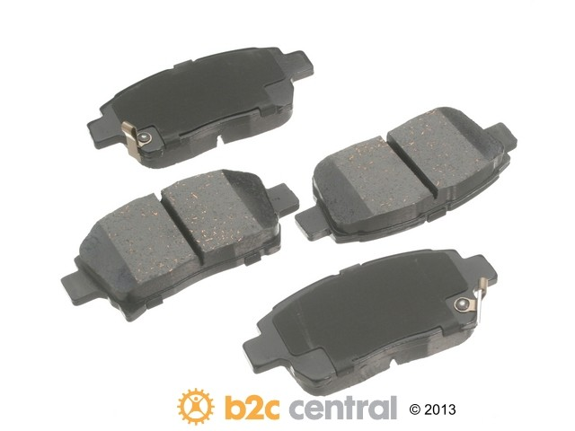 FBS - Advics Ceramic Brake Pad Set w/ Shims (Front) - B2C W0133-1746209-ADV