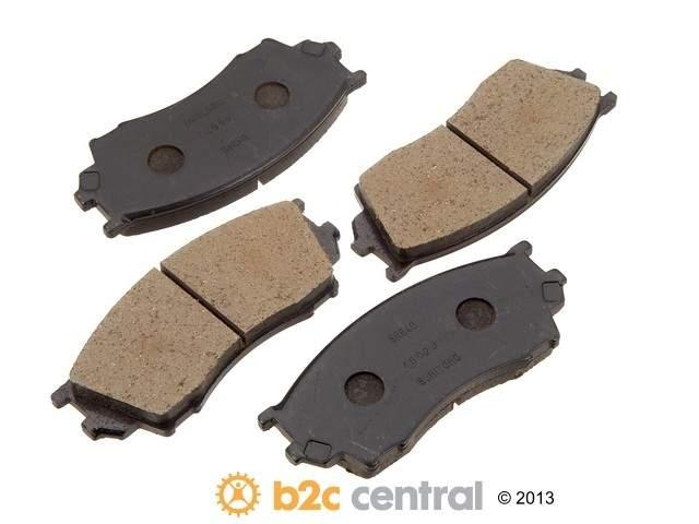 Sumitomo -  OE Replacement Brake Pad Set w/o Shims (Front) - B2C W0133-1757066-SUM
