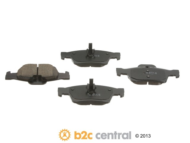 FBS - Akebono EURO Ultra-Premium Brake Pad Set Ceramic (Rear) - B2C W0133-1791781-AKE