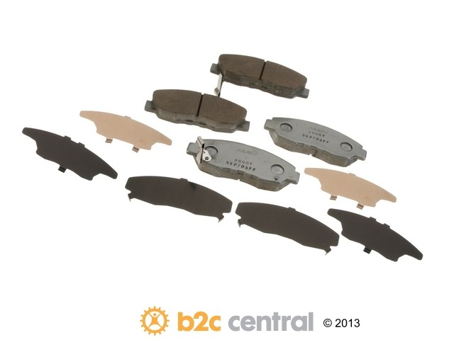 FBS - Nissin Silver Sport Brake Pad Set With Shims (Front) - B2C W0133-1791797-NIS
