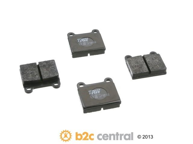 FBS - TRW OE Formulated Brake Pad Set With Shims (Rear) - B2C W0133-1794711-TRW