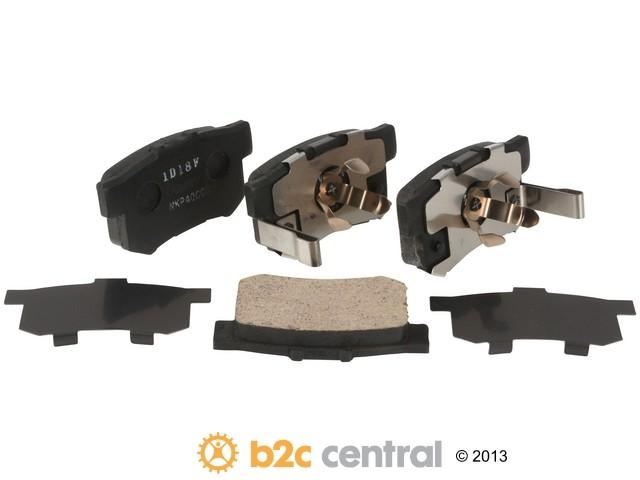 FBS - Nissin Premium Brake Pad Set With Shims (Rear) - B2C W0133-1796879-NIS