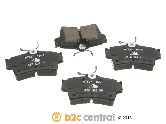FBS - ATE Premium One Ceramic Brake Pad Set w/ Shims (Rear) - B2C W0133-1804365-APC