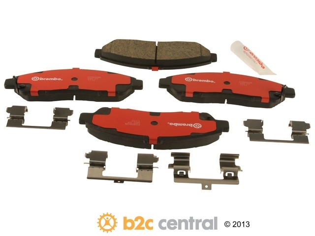 FBS - Brembo Ceramic Brake Pad Set With Shims (Front) - B2C W0133-1805719-BRE