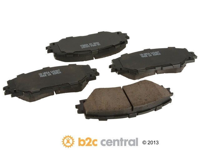 FBS - Sangsin Ceramic Brake Pad Set With Shims (Front) - B2C W0133-1811276-SBC