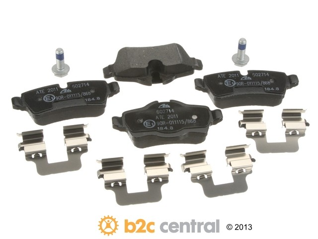 FBS - ATE Original OE Formulated Brake Pad Set w/ Shims (Rear) - B2C W0133-1814320-ATE