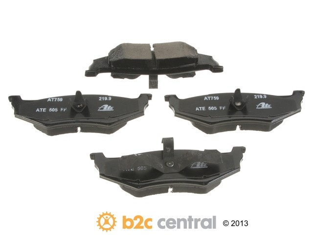FBS - ATE Premium One Ceramic Brake Pad Set With Shims (Rear) - B2C W0133-1815370-APC