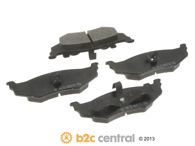 NPN -  Premium Brake Pad Set Organic w/o Shims (Rear) - B2C W0133-1815370-NPN