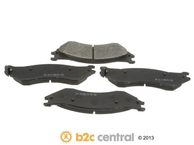 FBS - NPN Premium Brake Pad Set Organic w/o Shims - B2C W0133-1815813-NPN