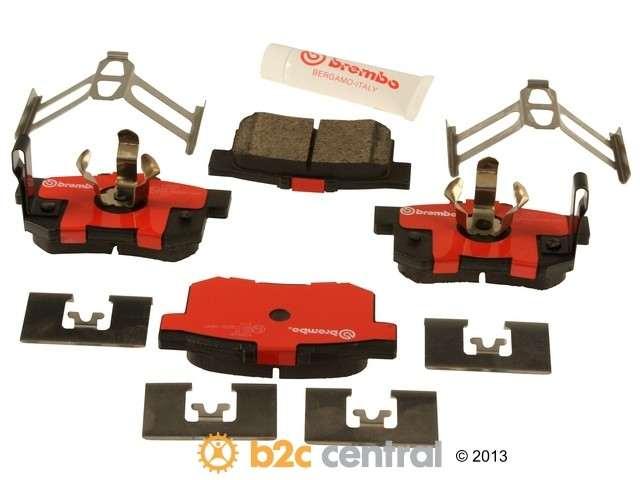 FBS - Brembo Ceramic Brake Pad Set With Shims (Rear) - B2C W0133-1820253-BRE